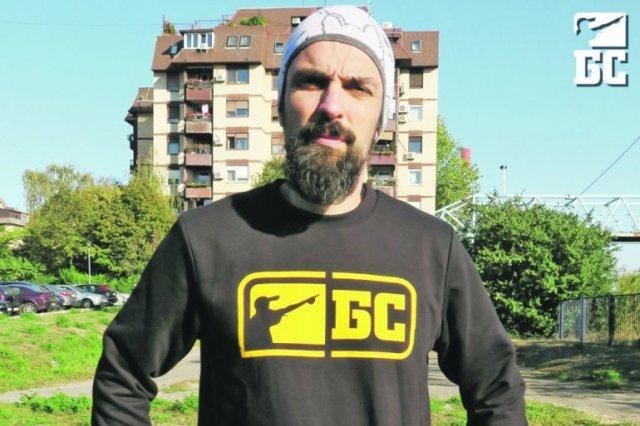Најава за концерт Бошка Ћирковића Шкаба у Нишу