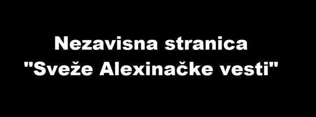 """Ko uređuje stranicu """"Sveže Aleksinačke vesti""""?"""