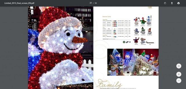 Снешко у Алексинцу из каталога фирме; фото: Јужне вести