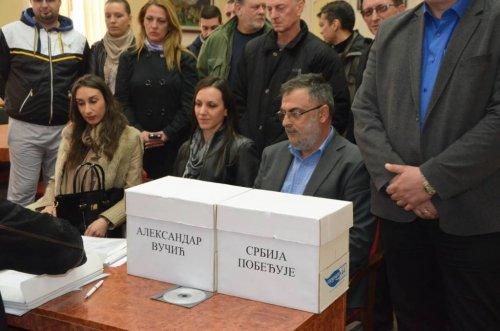 Aleksinački naprednjaci prvi predali listu za lokalne izbore