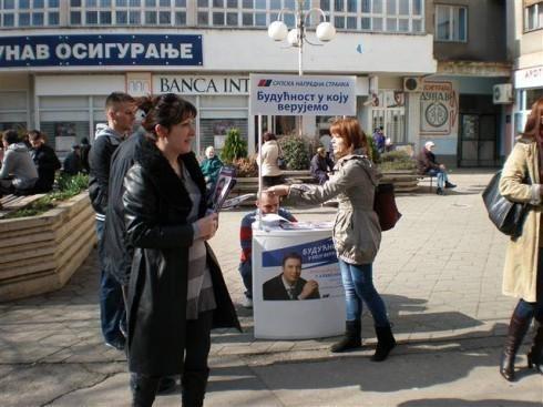 Подела СНС Информатора у Алексинцу