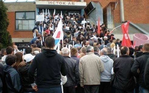 Алексиначки напредњаци посетили митинг у Лесковцу