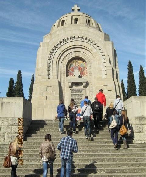 Mladi Aleksinčani u Solunu