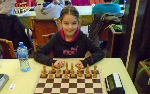 Анастасија Војиновић првак централне Србије у шаху