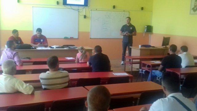 Fudbalski seminar za C licencu u Aleksincu