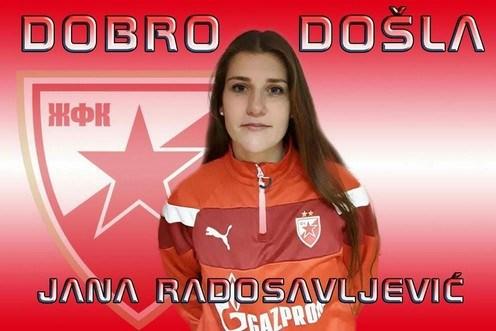 Jana Radosavljević potpisala za Crvenu zvezdu