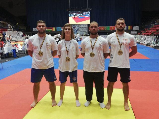 Aleksinac dobio tri šampiona Balkana i prvakinju na Svetskom kupu u Bukureštu