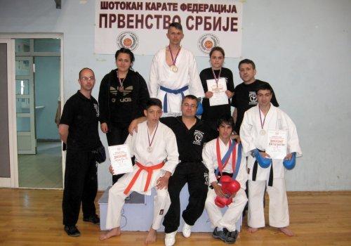 Deset medalja za karatiste Šumatovca