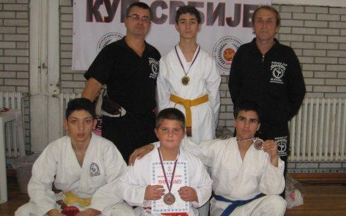 Медаље са Отвореног Купа Србије Шотокан Карате Федерације
