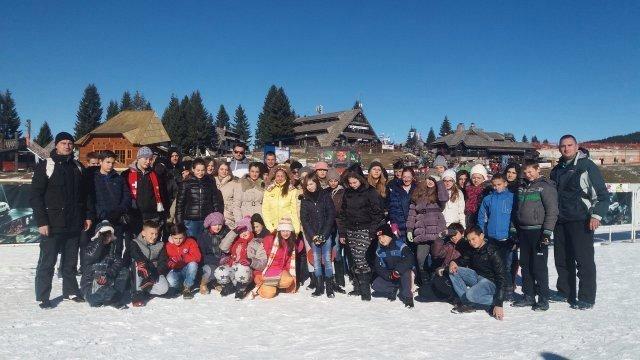 Jednodnevni izlet na Kopaonik u organizaciji Saveza za školski sport Aleksinac
