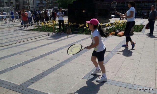 Bronzana Nina na Republičkom takmičenju u tenisu