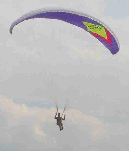 Једрење падобраном изнад Вршца