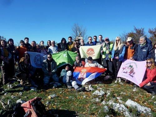 """XVI планинарска акција """"Јесењи успон на Лесковик"""""""