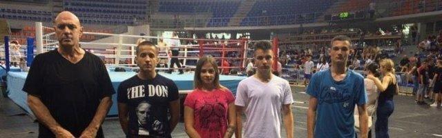 Три сребра на Првенству Србије у Кик боксу