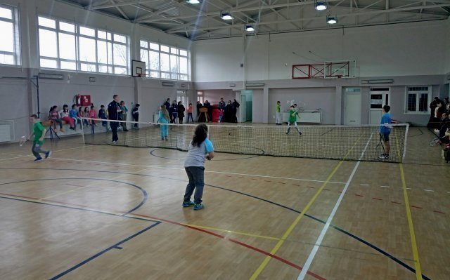 У Трњану одржано Првенство у тенису за ученике основних школа