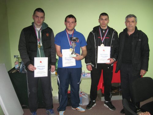 Stevan Canković, Bojan Jovanović, Predrag Krstić i Jovan Živić