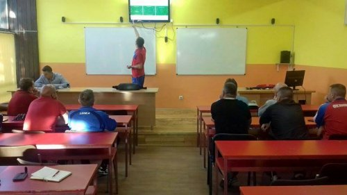 Seminar za fudbalske trenere u Aleksincu