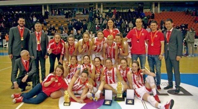 Мина опет узела куп: Звезда одбранила трофеј у купу Милана Циге Васојевића