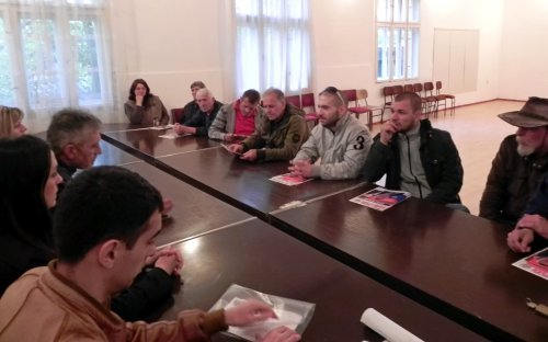 Članovi Opštinskog odbora Srpske radikalne stranke obišli Kraljevo, Žitkovac i Prćilovicu