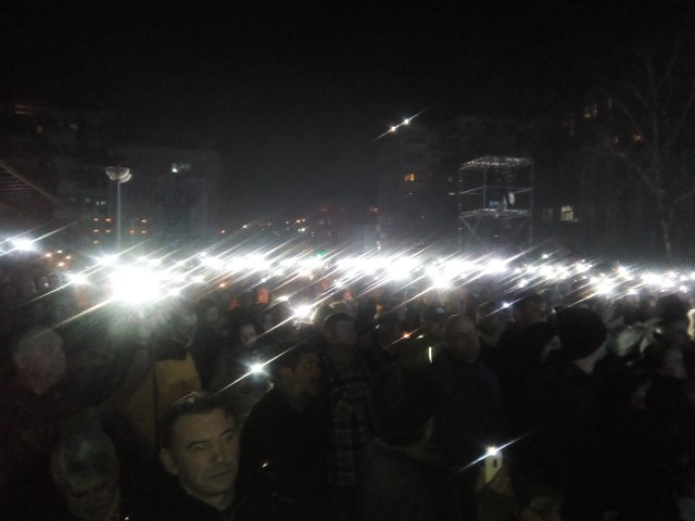 Hiljadu sveća za stradale u NATO bombradovanju