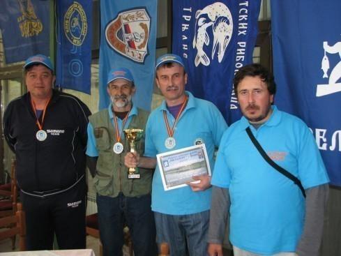 2. mesto na međunarodnom takmičenju u pecanju