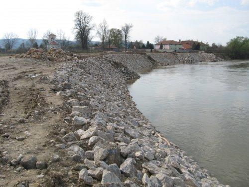 Sanirana leva obala Južne Morave kod Tešice