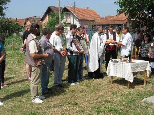 Тешичани прославили сеоску славу Литија.