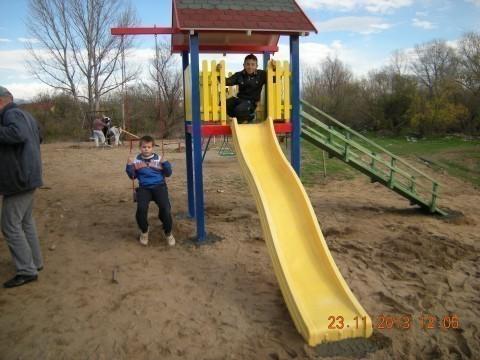 Uređenje dečjeg parka u Bankovcu