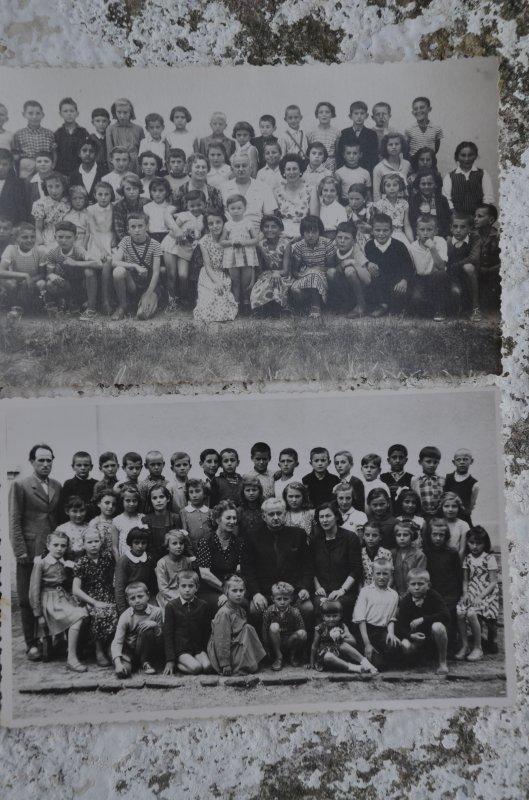 """Трећи и четврти разред 1958-60, први човек у другом реду Слободан """"Билцић"""""""