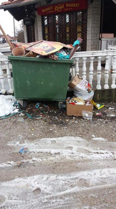 ЈКП не ради свој посао ни у Трњану