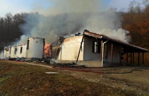 Изгорео рехабилитациони центар у Витковцу
