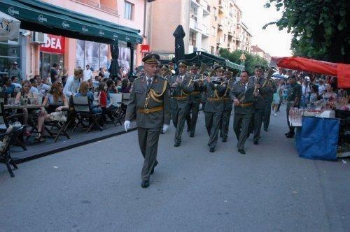 Војни оркестар из Ниша гостовао у Алексинцу