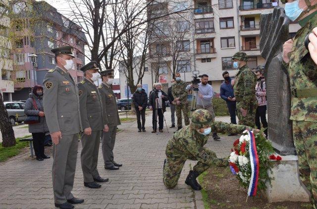 Pomen žrtvama Aleksinca NATO agresije održan 5.4.2021.