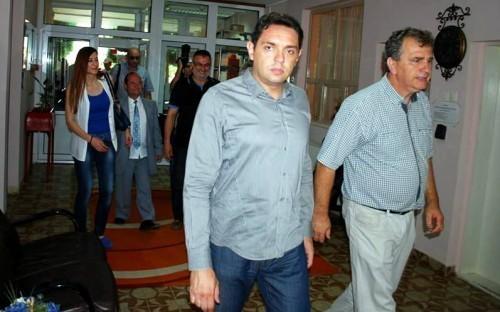 Aleksandar Vulin u ranijoj poseti GC Aleksinac