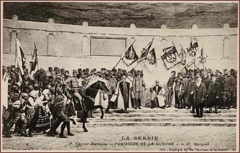 Велики рат, српски и аустријски митови