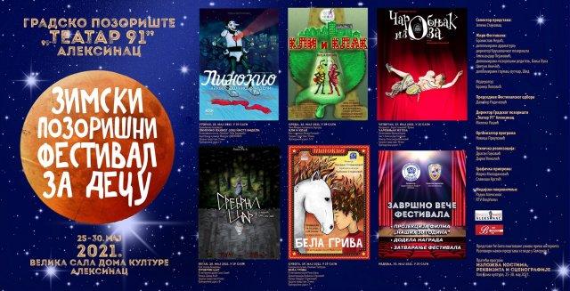 Одложени Зимски позоришни фестивал за децу коначно се одржава